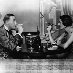Noel Coward and Gertrude Lawrence in Private Lives
