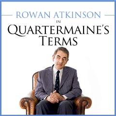 Quartermaine's Terms at the Wyndham's Theatre starring Rowan Atkinson