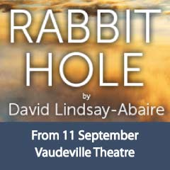Rabbit Hole at the Vaudeville Theatre starring Joanne Froggatt