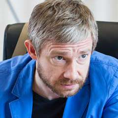 Martin Freeman rehearsing for Richard III. Photo: Marc Brenner