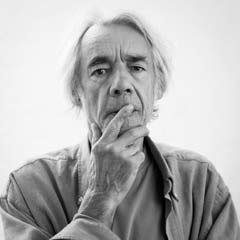 Jon Cartwright's portrait of the late actor Roger Lloyd Pack