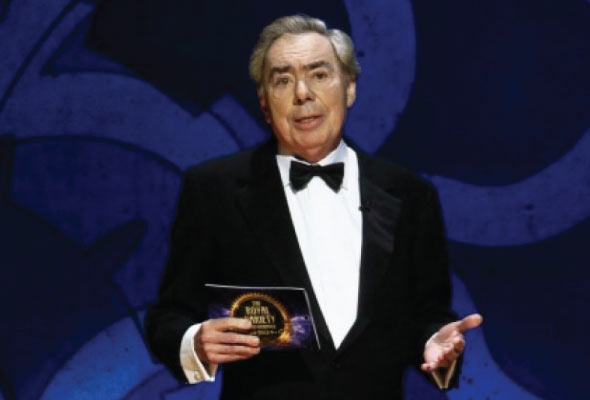 Andrew Lloyd Webber introduces a number from his new musical Stephen Ward
