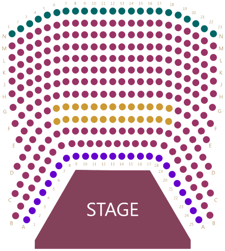 St. James Theatre Seating Plan