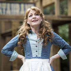 Photos: Seven Brides for Seven Brothers at the Regents Park Open Air theatre