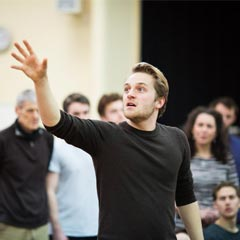 Photos: Shakespeare In Love new cast rehearsal