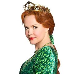 Amanda Holden stars in Shrek the Musical