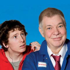Matthew Kelly and Gerard Kearns in Sign of the Times