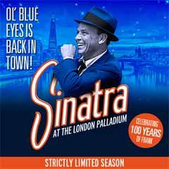 Sinatra at the London Palladium Theatre