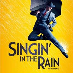 Singin' in the Rain at the Palace Theatre starring Adam Cooper