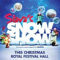 Slava's Snowshow at the Royal Festival Hall
