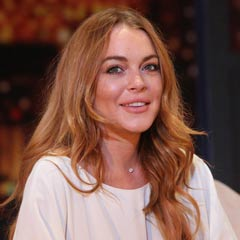 Speed-the-Plow at the Playhouse Theatre starring Lindsay Lohan. Photo © Roy Tan