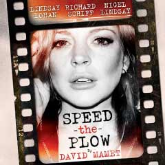 Speed-the-Plow starring Lindsay Lohan at the Playhouse Theatre