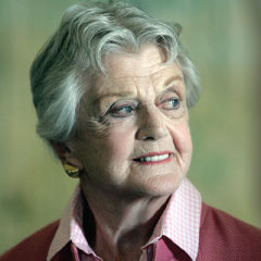 ANGELA LANSBURY as Madame Arcati in Blithe Spirit at the Gielgud Theatre