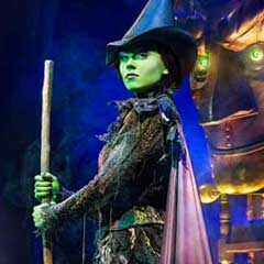 Wicked release first pictures of Emma Hatton as Elphaba