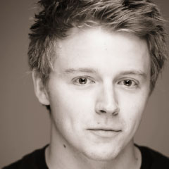 Jack Lowden, winner of the Ian Charleson Award 2013