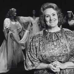 Dame Joan Sutherland in 1989. Photo: David Franklin