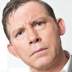 LEE EVANS in Barking in Essex