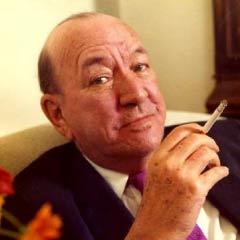 Noël Coward, Savoy Hotel, 1972. Photo: © Allan Warren