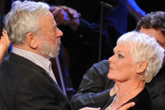 Stephen Sondheim and Judi Dench at the Sondheim at 80 BBC Prom