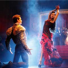 A scene from Strictly Ballroom The Musical