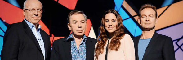 Audition judges for SUPERSTAR on ITV1