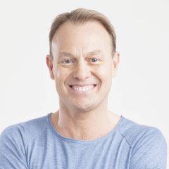 Jason Donovan, a judge on ITV's SUPERSTAR