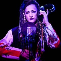 Matthew Rowland as Boy George in Taboo