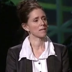 Initial director of Spider-Man, Julie Taymor, giving a TED talk on the creative process and her work