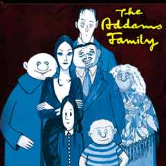 The Addams Family at the St James Theatre