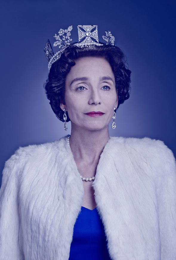 Kristin Scott Thomas as The Queen in The Audience. Photo : Jason Bell