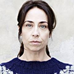 Sofie Gråbøl as Sara Lund in TV's The Killing