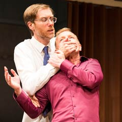 Photos: Stephen Merchant and Steffan Rhodri in The Mentalists