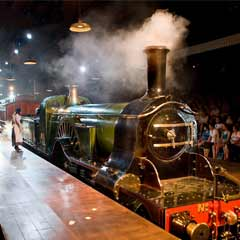 The Railway Children - featuring a live steam train