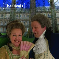 Penelope Keith and Peter Bowles in The Rivals