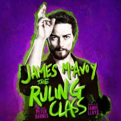 The Ruling Class starring James McAvoy at the Trafalgar Studios