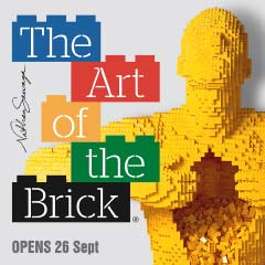 The Art of the Brick at the Old Truman Brewery