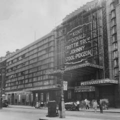 A mixed bill of film and variety at the New Victoria in the 1940s