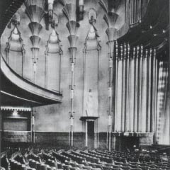 The auditorium in the 1930s