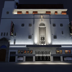 Planned renovations of the Fortune Theatre