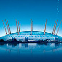 O2 Arena in London – Map