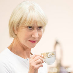 Helen Mirren in rehearsals for The Audience at the Gielgud Theatre. Photo: Johan Persson