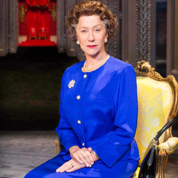 Helen Mirren as The Queen in new play The Audience. Photo: Johan Persson