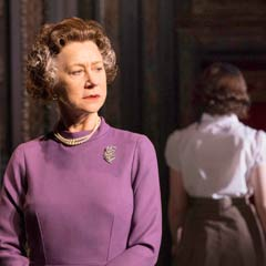 Helen Mirren as The Queen in the West End run of The Audience