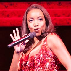 Heather Headley in The Bodyguard. Photo: Paul Coltas