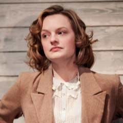 Elisabeth Moss in The Children's Hour