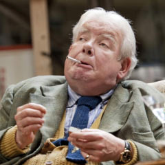 Richard Griffiths as WH Auden in The Habit of Art