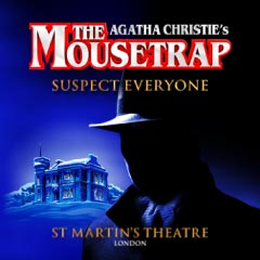 The Mousetrap at the St Martin's Theatre