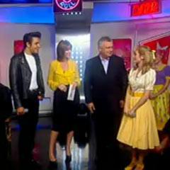 Grease's Noel Sullivan and Lauren Samuels interviewed on This Morning