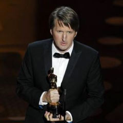 Tom Hooper collects his Best Director Oscar for The King's Speech