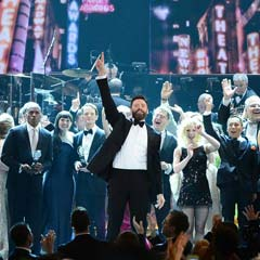 Hugh Jackman, host of the Tony Awards 2014
